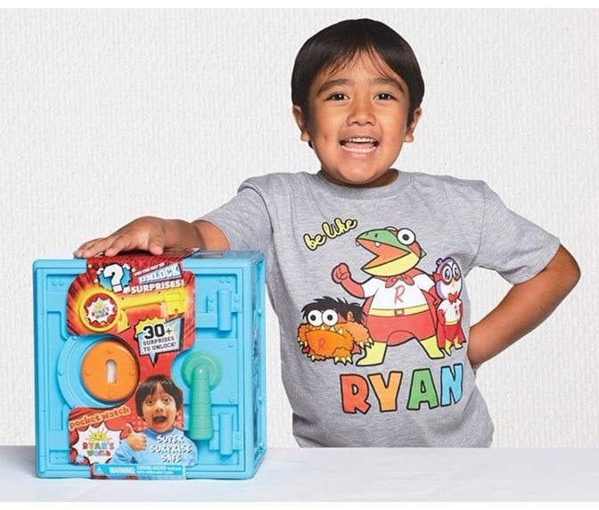 7fad957c37016 Ryan's World and Hobby Kids