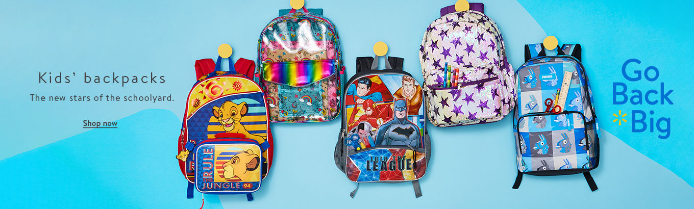 9b6dcf831cec1b Kids' backpacks. The new stars of the schoolyard. Shop now. Go Back