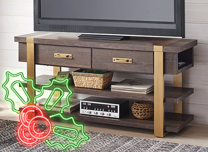 Elevate Your Entertainment Zone With A TV Stand.