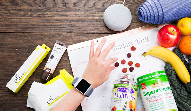 12 New Year's resolution ideas and the products that will help you keep them