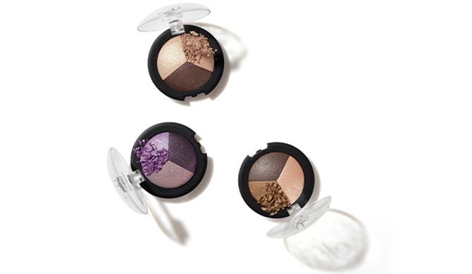 A trio of eyeshadow palettes