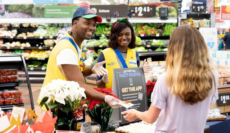 Walmart in-store events