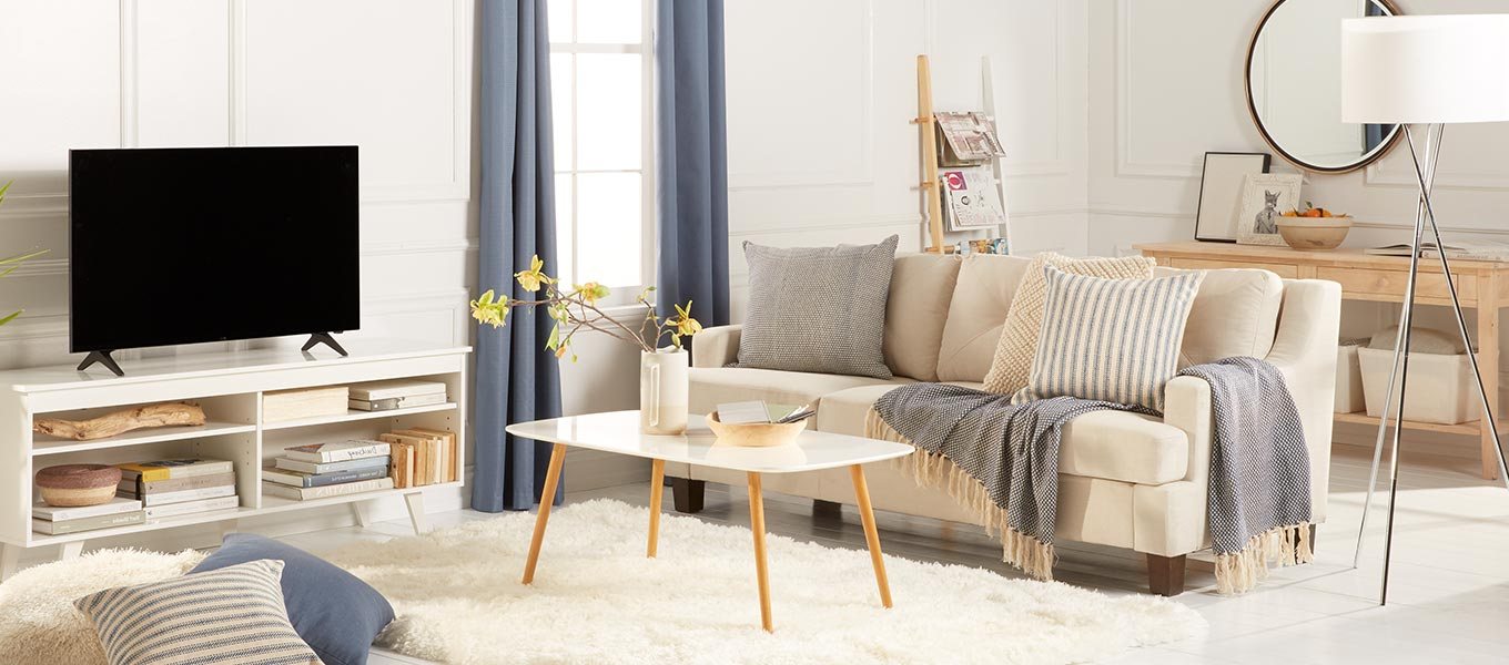 Warm And Welcoming. Get Wrapped Up In A Scandinavian Living Room.