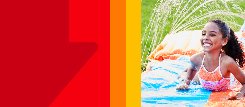 Save more on kids waterslides! Slide, splash and soak for outdoor fun.