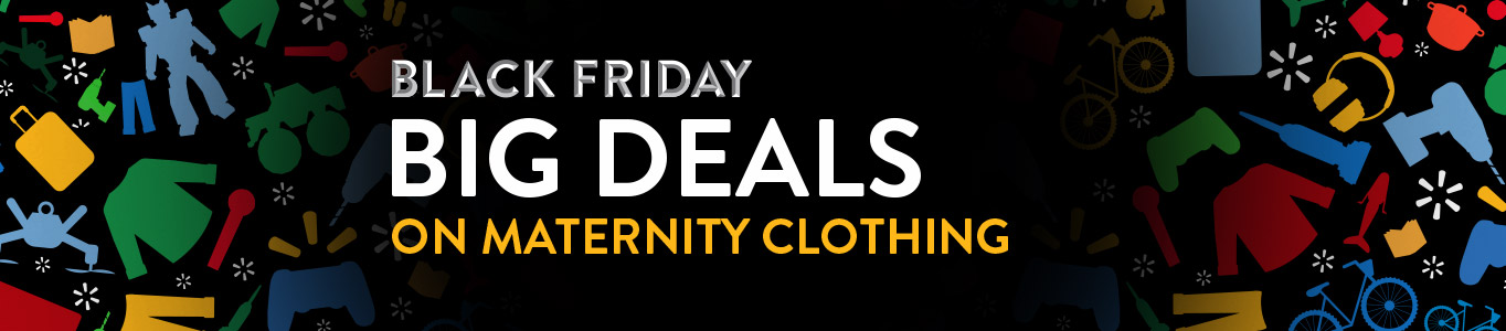 Black Friday deals on maternity clothing