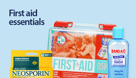 Shop first aid products