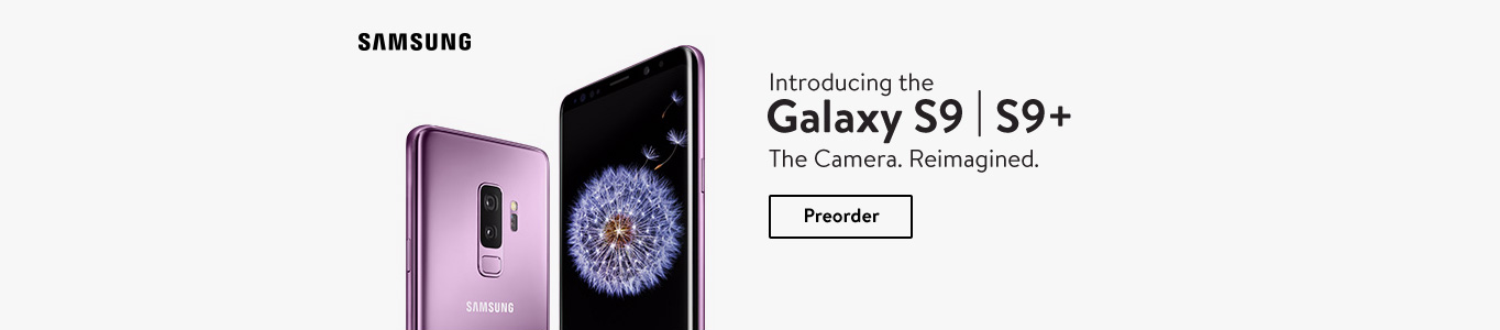 Introducing the Galaxy S9 & S9 Plus. The Camera. Reimagined. Preorder now.