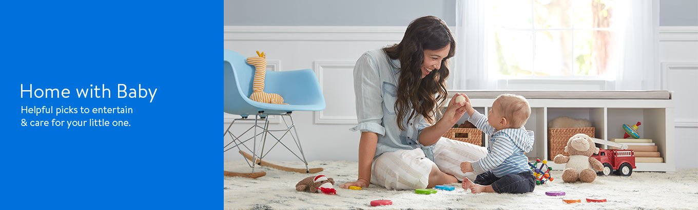 Staying home with your baby. Helpful picks to entertain and care for your little one.