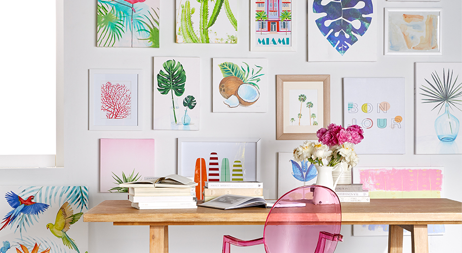 Decor; Art U0026 Wall Decor. Bright. Bold. Brilliant. Curate Walls That Wow In  A Sunny Palette That Takes