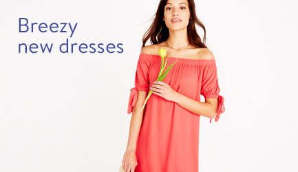 Breezy new dresses