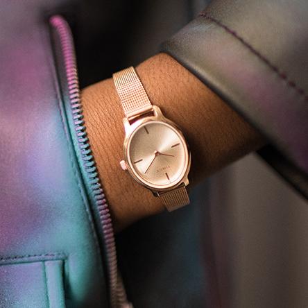 Sweet-Tempered Brand New Blue Danish Design Womens Designer Watch *valentine Gift* Wristwatches Jewelry & Watches