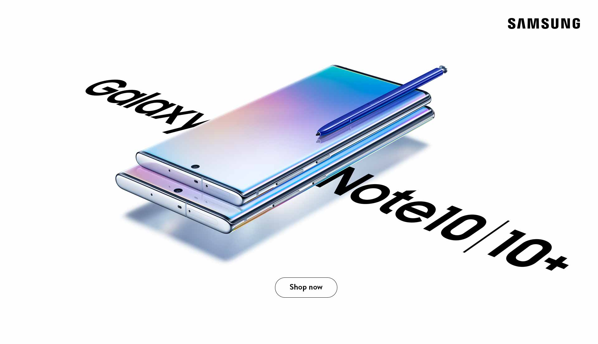 The new Galaxy Note10 & Note 10+. Shop Now.