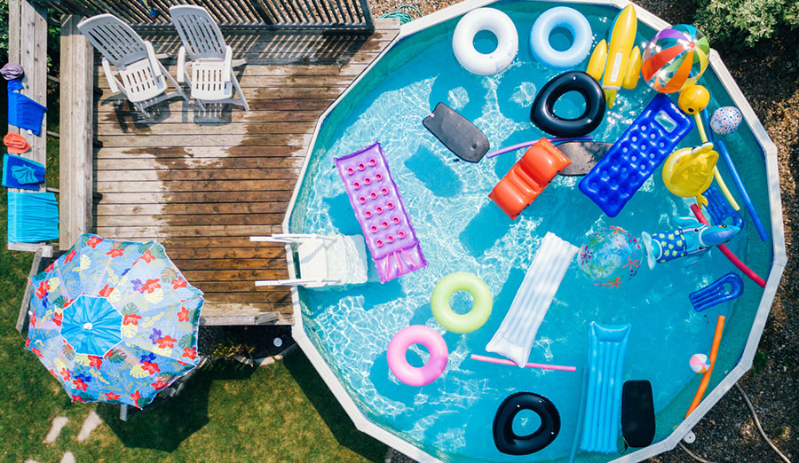 Above ground swimming pools how to choose the right one - Walmart above ground swimming pools ...