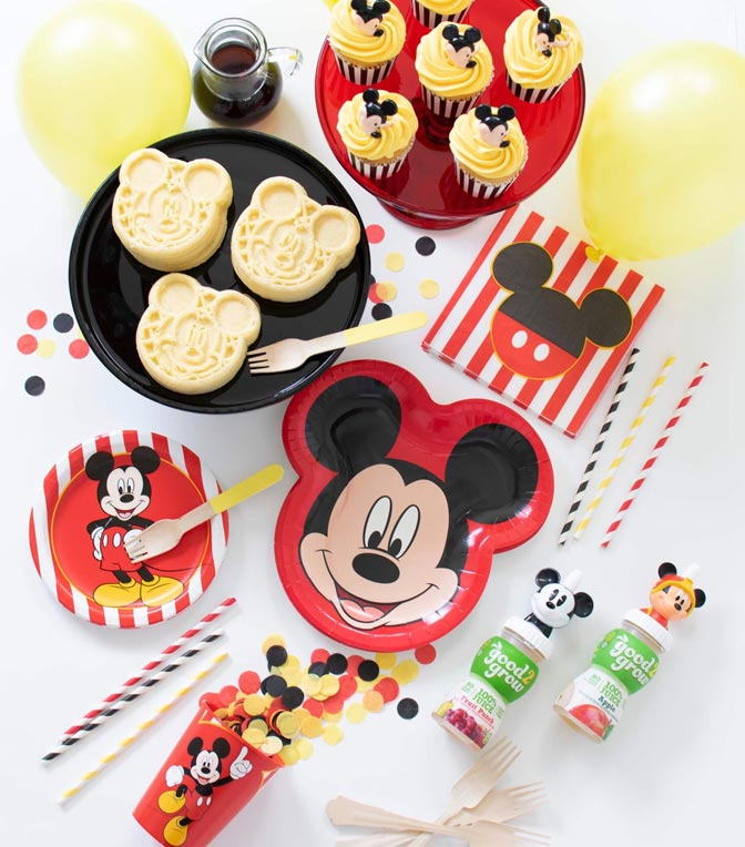 Plan a party with Mickey & friends.