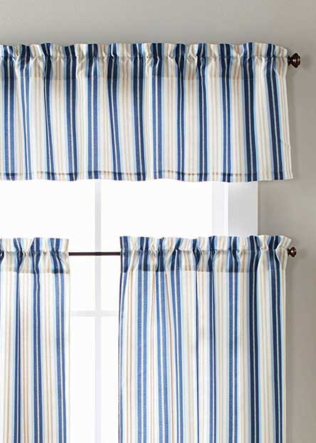 Tiers And Valences Give Your Windows A Softer Look That Lends Privacy But  Still Lets In