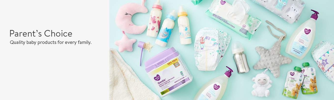 Parent's Choice. Quality baby products for every family
