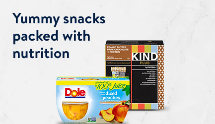 Yummy snacks packed with nutrition