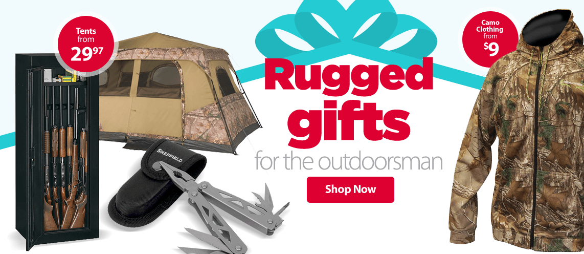 Gifts for the outdoorsman