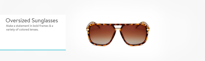 f596dcddd3b0 B&A Oversized Sunglasses - Search Banners