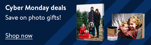 Cyber Monday deals. Save on photo gifts! Shop now.