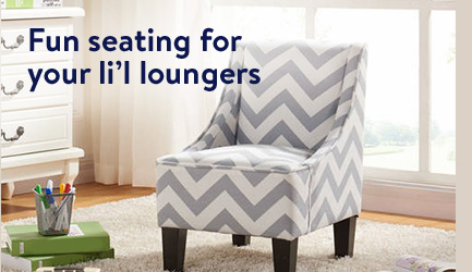 Fun Seating For Your Liu0027l Loungers. Shop Kidsu0027 Furniture.