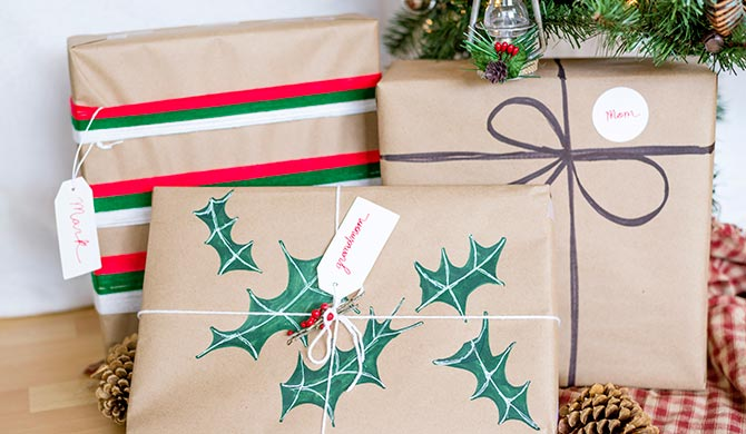 6 easy holiday gift wrapping ideas walmart com