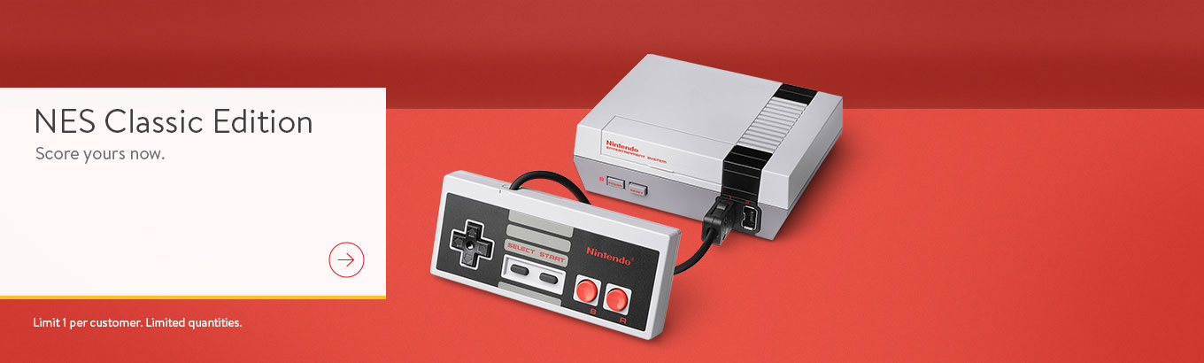 Nintendo Classic Edition. Score yours now.