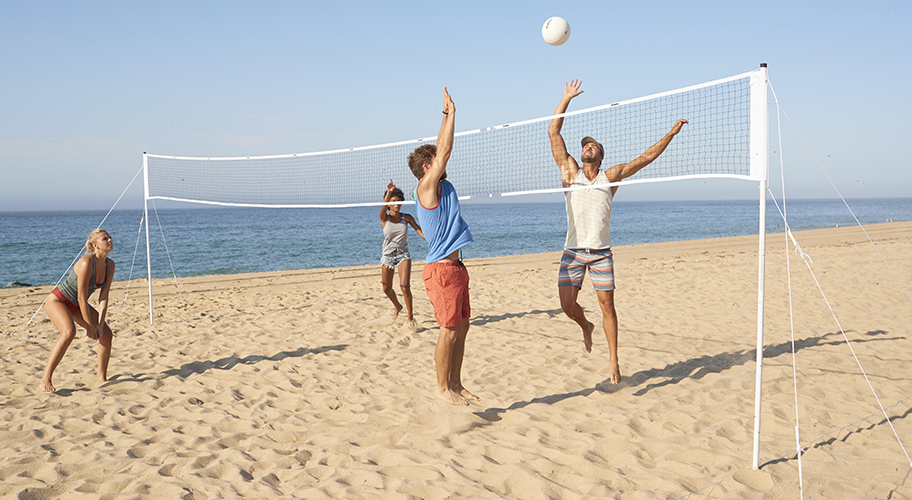 Serving up summer savings. Find great deals from Franklin for all of your outdoor volleyball needs.