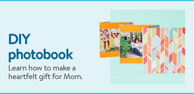 DIY Photobook Learn How To Make A Heartfelt Gift For Mom