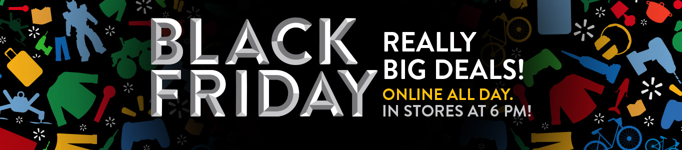 Black Friday is online now. In stores Thursday at 6 PM