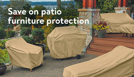 Save on patio furniture protection
