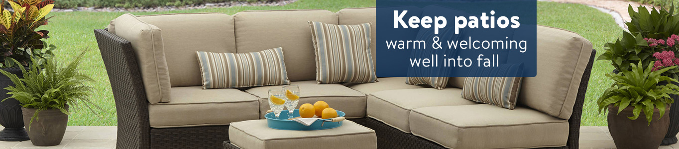 Keep Patios Warm And Welcoming Well Into Fall