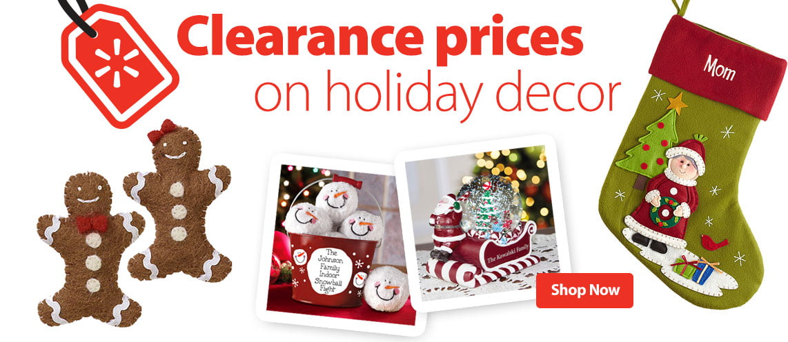 Christmas Decor Clearance
