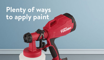 Plenty of ways to apply paint. Shop paint prep and applications.