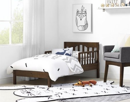 Best Toddler Bed In Espresso
