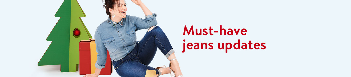 Must-have jeans updates