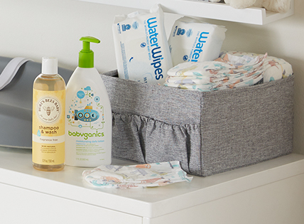Running low? Stock up!  Restock the stuff your baby needs most. Shop now