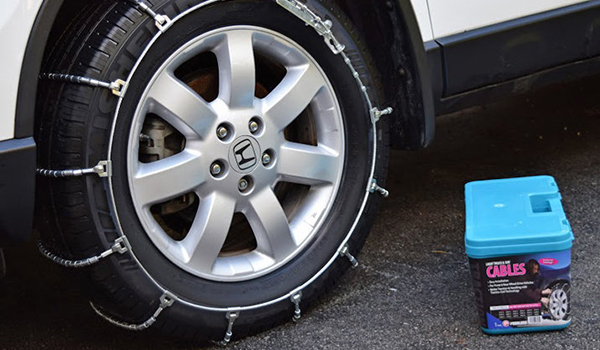 Easy Guide to Installing Tire Chains & Cables - Walmart.com