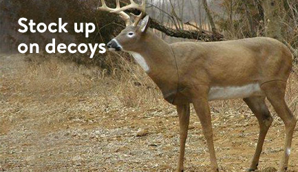 Stock up on decoys