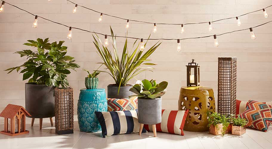 Fall For Your Patio. Update With Lanterns, Pillows U0026 More.