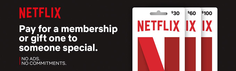 Netflix Gift Cards - Walmart com