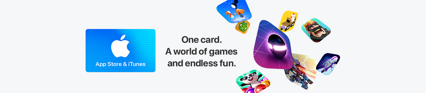 App Store and iTunes Gift Cards!
