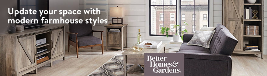 update your space with modern farmhouse styles from better homes gardens - Better Home And Garden