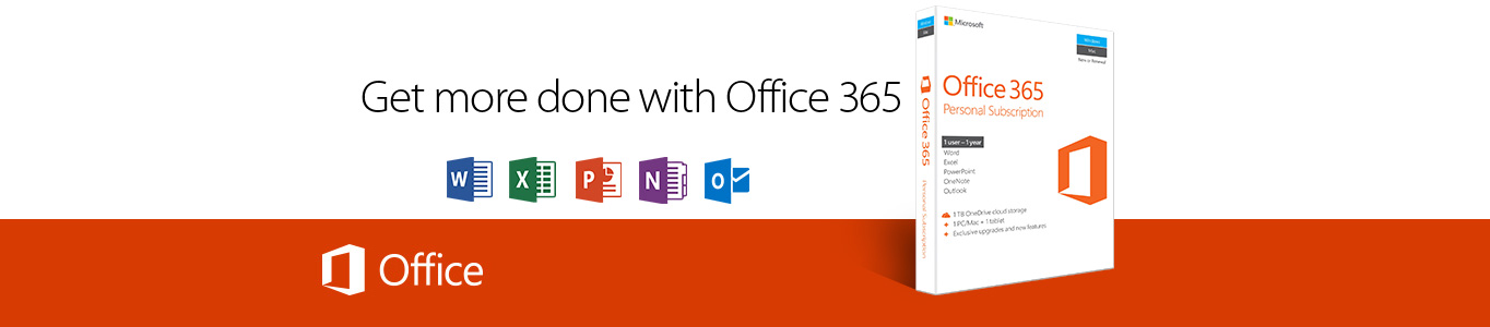 Get more done with office 365.
