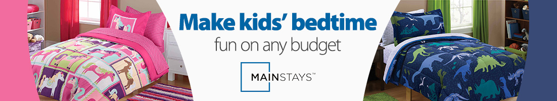 Make kids' bedtime fun on any budget. Brandname Mainstays