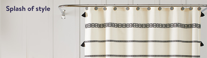 new shower curtains