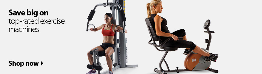 Save Big On Top Rated Exercise Machines Now