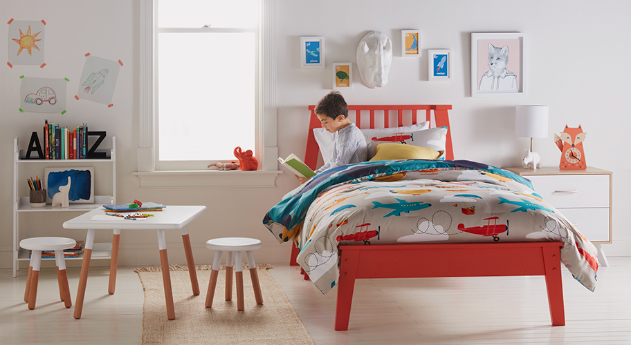 Imagination Destination. Design a personality-filled room brimming with color & creative expression.