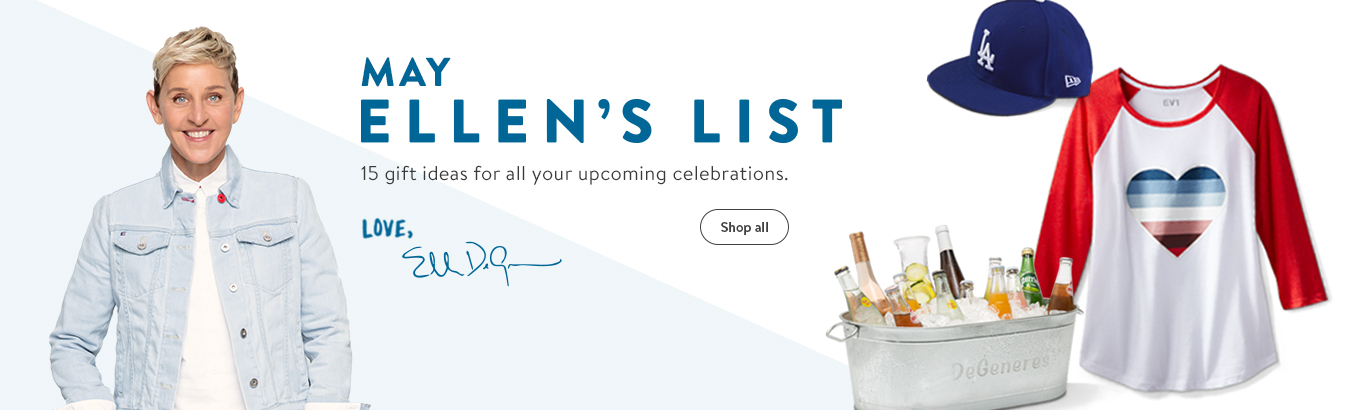 May Ellen's List. 15 gift ideas for your upcoming celebrations. Shop all