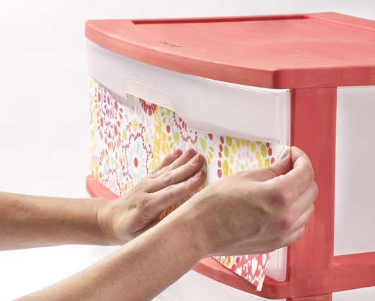 & Chalk-Painted Three-Drawer Plastic Cart How-to Project - Walmart.com